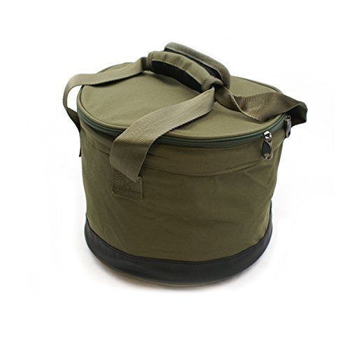 Deluxe Ground Bait Bowl With Handles And Zip Cover!! by NGT