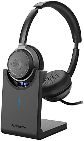 Avantree Alto Clair aptX HD Bluetooth 5 0 Headset with Microphone Mute Function Clear Talking product image