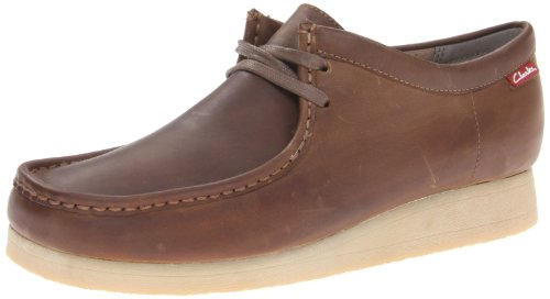 Clarks Men's Stinson Lo, Beeswax Leather, 12 M US