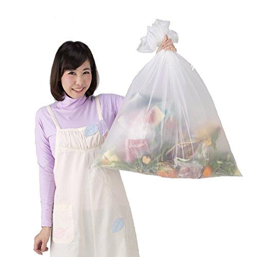 防臭袋 臭わないゴミ袋 「 防臭丸 」 30L 20枚入 (50cm×70cm×厚0.03mm) 消臭袋 生ゴミ処理袋 BOSYUMARU 30リットル