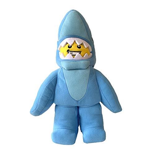 The Manhattan Toy Company LEGO Minifigure Shark Suit Guy Stuffed Animal Character