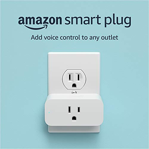 Amazon Smart Plug, works with Alexa – A Certified for Humans Device