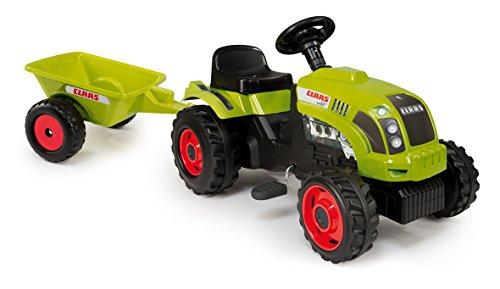 Smoby Tractor GM Class con Remolque