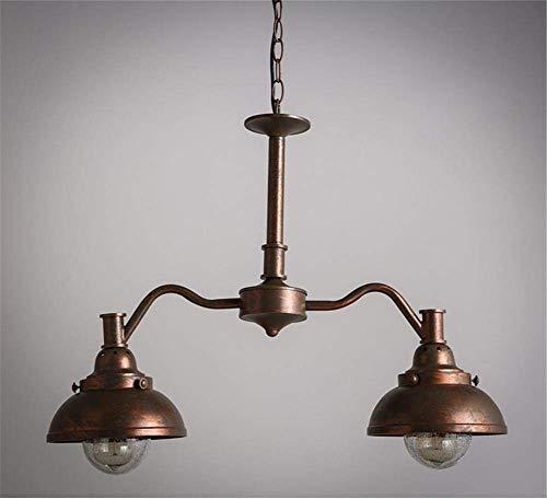 Plafondlamp vintage brons oude smeedijzeren kroonluchter woonkamer eetkamer slaapkamer lamp kroonluchter