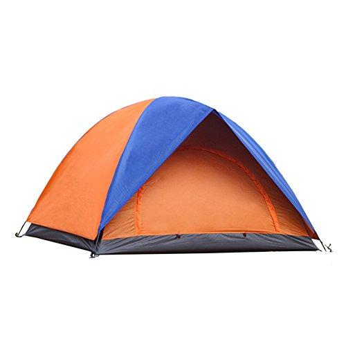 MQHY Tent Il doppio di persone tende spesso il doppio di tende per esterni turismo selvaggio tende da campeggio ombra Anti-Mosquito impermeabile tende doppie tende di porta
