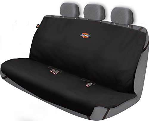 Dickies Heavy Duty Rear Bench Seat Protector, Black