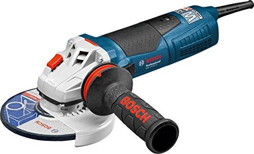 BOSCH 060179R002 - Miniamoladora GWS 19-150 CI Professional. 1.900 W. 150 mm. 9.700 rpm. Arranque suave. Protección contra rearranque. KickBack Stop. 2,4 Kg con Empuñadura anti-vibración. Caja de cartón.
