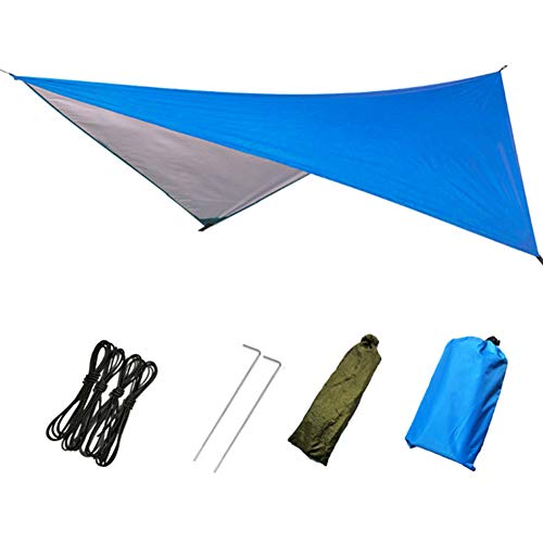 THE BEST DAY Large Waterproof Lightweight Camping Tent Tarp Shelter Hammock Rain Fly Cover