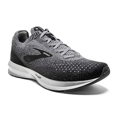 Brooks Mens Levitate 2 Running Shoe - Black/Grey/Ebony - D - 11.0