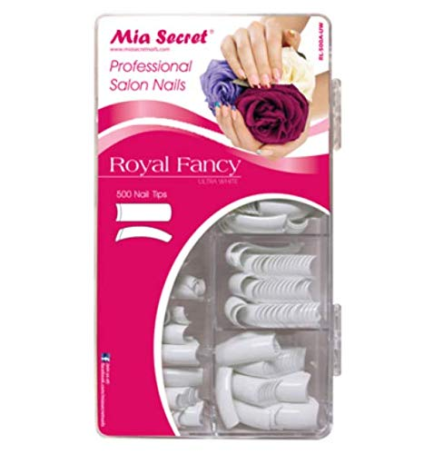 Mia Secret latest Professional Nail System Tips Ultra White - Manufacturer OFFicial shop 500