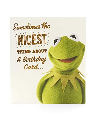 Geburtstagskarte für Kinder Kermit der Frosch