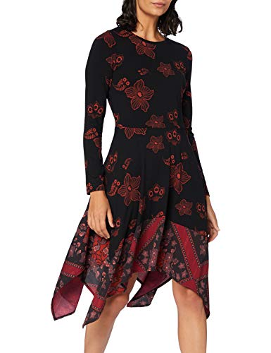 Desigual Womens Vest_Chicago Casual Dress, Red, M