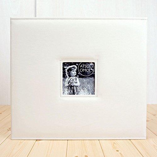 VANJOH アルバム アツイオモイ Lサイズ 1200枚収納 ホワイト 803021