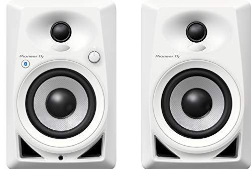 Pioneer DM-40BT altavoz De 2 vías Blanco Inalámbrico y alámbrico 3,5mm/Bluetooth - Altavoces (De 2 vías, Inalámbrico y alámbrico, 3,5mm/Bluetooth, 70 - 30000 Hz, 10000 Ω, Blanco)