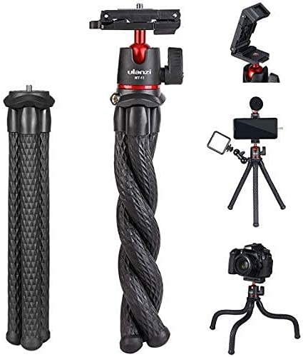 ULANZI MT-11 Camera Tripod Max Mail order 88% OFF Mini Hidd Flexible Stand with