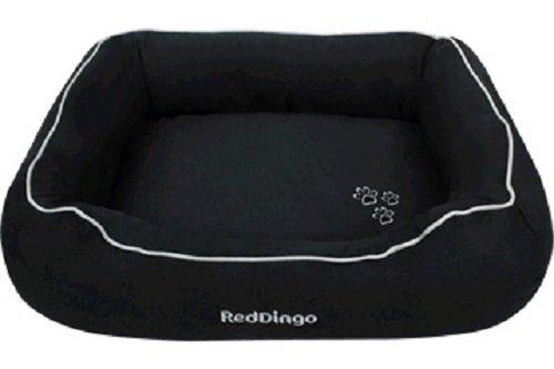 Red Dingo Haustierbett, Donut-Design, Größe XL, Schwarz