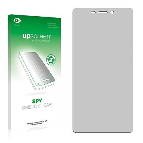 upscreen Anti-Spy Blickschutzfolie kompatibel mit ZTE Blade V580 Privacy Screen Sichtschutz Bildschirmschutz-Folie