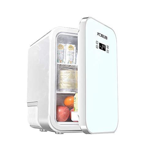 Car refrigerator-TOYM Frigorifero Portatile,25L Mini frigo Elettrico,Scatola elettrica di Raffreddamento per casa, dormitorio degli Studenti,Bianca