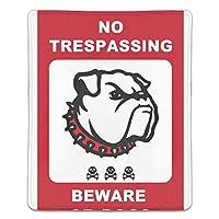 マウスパッド おしゃれ 高耐久性 滑り止め 防水 PC ラップトップ 水洗い レーザー 光学式 18*22cm 犬注意