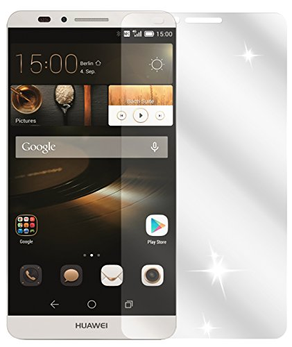 dipos I 6X Schutzfolie klar kompatibel mit Huawei Ascend Mate 7 Folie Displayschutzfolie