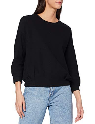 OPUS Damen Gilf Sweatshirt, Black, 36