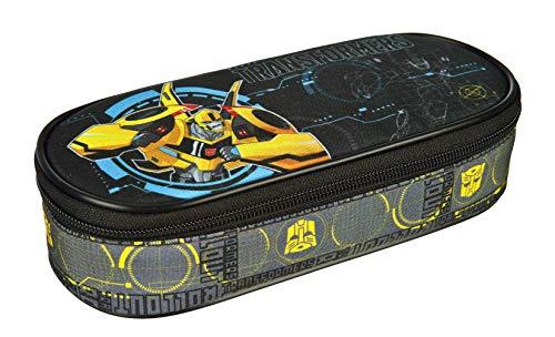 Scooli TFUV7730 – Estuche con portabolígrafos, Transformers con diseño de Bumblebee, Aprox. 21,5 x 10 x 6 cm.