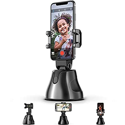360° Rotation Auto Face Tracking Camera Mount Holder = Face Tracking and Intelligent Shooting + Object Tracking,Intelligent Tracking by Belluxashop