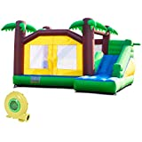 Best Bounce Houses - Costzon Inflatable Bounce House, Jungle Jump and Slide Review