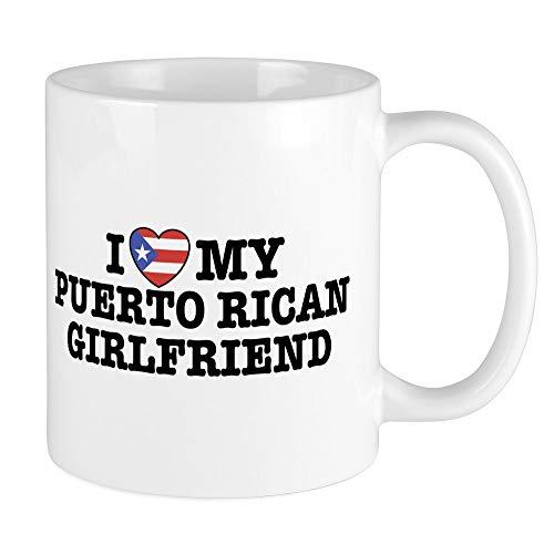 CafePress I Love My Puerto Rican Girlfriend Mug Unique Coffee Mug, Coffee Cup