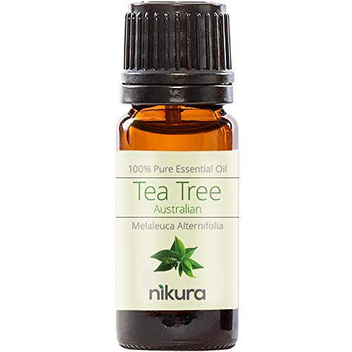 Nikura 100% Pure Tea Tree (Australian) Essential Oil 10ml, 50ml, 100ml (10ml)