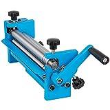 Mophorn SJ 300 Slip Roll Machine 12inch/300mm Forming Width, Sheet Metal Roller 20 Gauge Capacity Mild Steel,Manual Slip Roll with Crank Handle & 2 Thickness Adjustment Pins