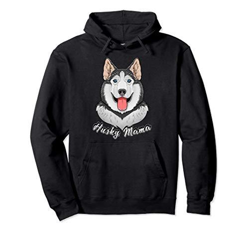 Siberian Husky Gifts Husky Mama Sudadera con Capucha
