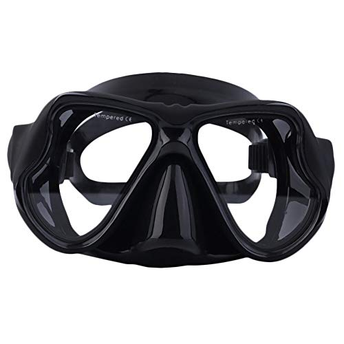 OCTO X-View Signature Snorkeling Diving Mask - Premium Adult Scuba Snorkeling Impact Resistant Tempered Glass Dive Mask with Easy Adjustable Strap