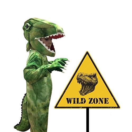 Disfraces TuDi - Disfraz de Dinosaurio Niño Halloween Tiranosaurio Rex Talla 4