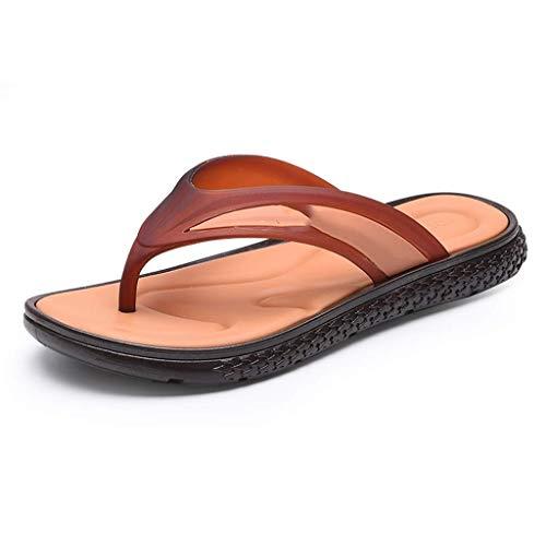 Kapcie męskie męskie sportowe klapki komfortowe dorywczo stringi sandały na zewnątrz (rozmiar: 39) sandały dla mężczyzn WUTONG (Size : 40)