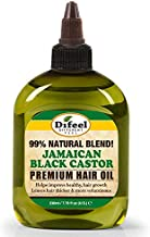 Difeel Premium Natural Jamaican Black Castor Hair Oil 7.78 oz - Jamaican Black Castor Oil for Hair Growth