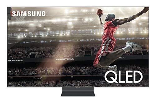 Samsung QN82Q90RAFXZA Flat 82-Inch QLED 4K Q90 Series Ultra HD Smart TV with HDR and Alexa Compatibility (2019 Model)