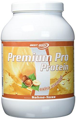 Best Body Nutrition Premium Pro, Sahne-Nuss, 750 g Dose