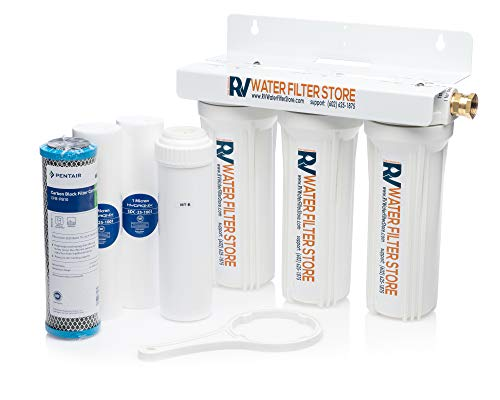 RV Water Filter Store Essential Portable RV Water Filter System with Iron and Heavy Metals Water Filtration
