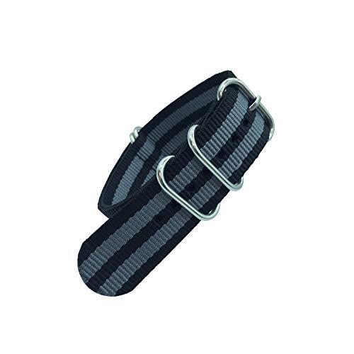 Cinturino in tessuto di nylon cinturino cinghia per cinturini colorati Arcobaleno, 7,20mm Colorful