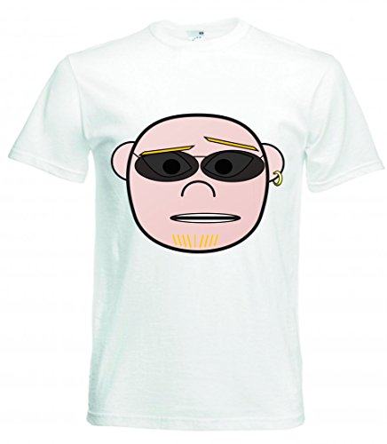 T-Shirt - Glatze- Verwirrt- Dress Up Kopf- Punk- Sonnenbrillen - Tshirt für Herren - Damen und Kinder