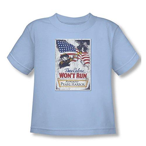 Army - - Port Toddler T-shirt de Pearl, 2T, Light Blue