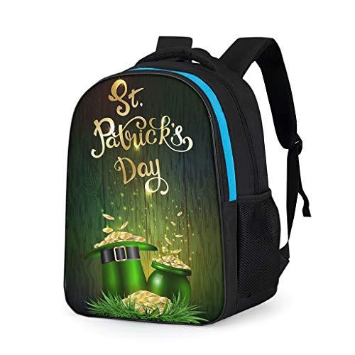 NeiBangM St Patrick's Day linnen school rugzakken meisjes reizen tassen pak voor jongens