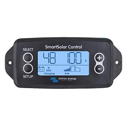 Victron SmartSolar - Pantalla LCD enchufable para monitor y programa Victron SmartSolar MPPT controladores de carga solar