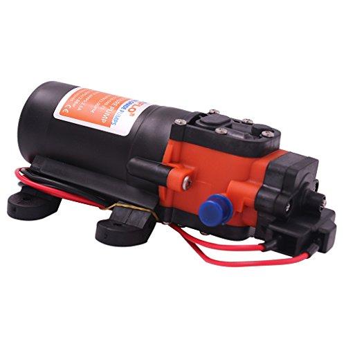 D DOLITY 1Pieza 35PSI Sistema de Agua de Presión Bomba de Agua de Diafragma Bomba de Grabación: 1,7amperios (MAX. 2,7amperios)