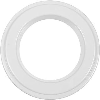 HEMOTON パイ地殻プロテクターシールドラウンドピザ振りかける材料ループリングプラスチックサークルクッキーカッター菓子モールドオーブンベーキングパン (25。5X25。5X1。7センチメートル)