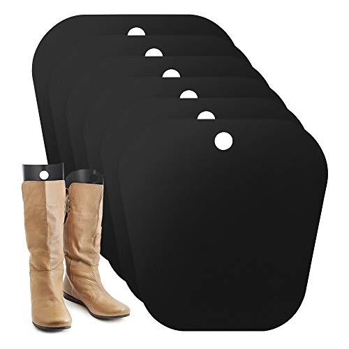 Stiefelspanner,8 Stück Boot Shaper,wiederverwendbare Stiefelhalterungen,Stiefel Aufrecht zu Halten und Ein Durchhängen Stiefel und Falten zu Verhindern (8pcs32 cm)