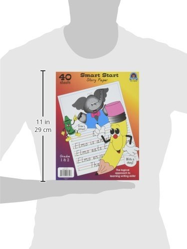 Teacher Created Resources (76540) Smart Start 1-2 Story Paper: 40 sheet tablet Photo #2