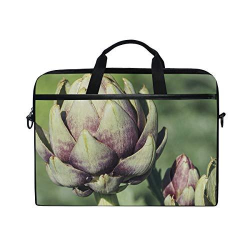 MONTOJ Laptop-Tasche mit frischer Artischocken, 15 Zoll Laptop, Aktentasche, Laptop, Messenger-Tasche