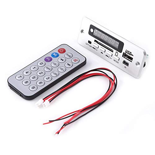 Hilitand DC 5 V USB TF Radio Drahtlose Mp3-player Decoder Board Audio Modul Rot Digital Led-anzeige Bord Drahtlose Mit Fernbedienung
